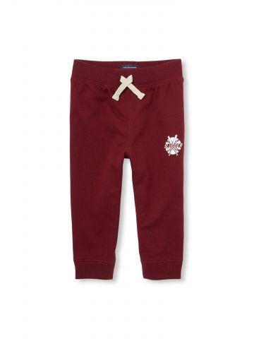 מכנסי טרנינג עם הדפס קטן / בייבי בנים