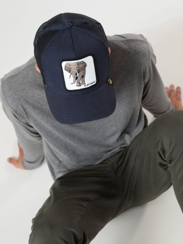 כובע מצחייה עם פאץ' פיל