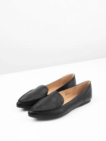 נעלי מוקסין דמוי עור Abigail / נשים