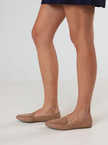 נעלי מוקסינים דמוי זמש Abigail / נשים