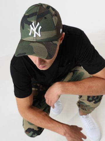 כובע מצחייה הדפס קמופלאז' יאנקיז