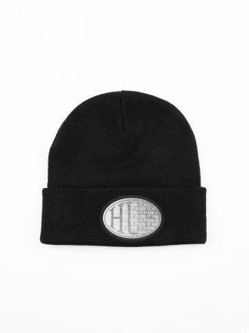 כובע גרב ריב עם פאץ' לוגו מתחלף