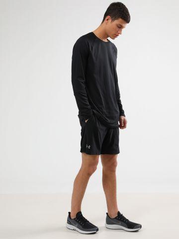 מכנסי ספורט קצרים עם טייץ פנימי