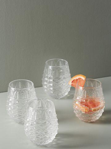 סט כוסות לשתייה Pineapple