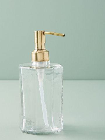 דיספנסר זכוכית אלגנטי לסבון