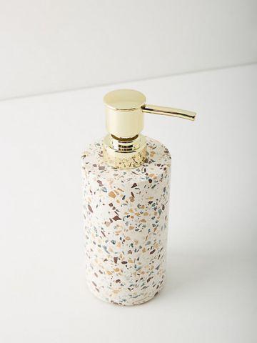 דיספנסר שיש לסבון נוזלי TERRAZZO