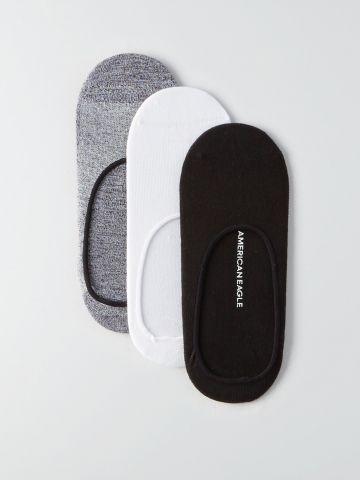 מארז 3 זוגות גרביים בצבעים שונים / גברים