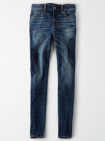 ג'ינס סקיני סטרץ' אינדיגו Jegging / נשים