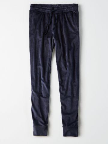 מכנסי טרנינג קטיפה / נשים
