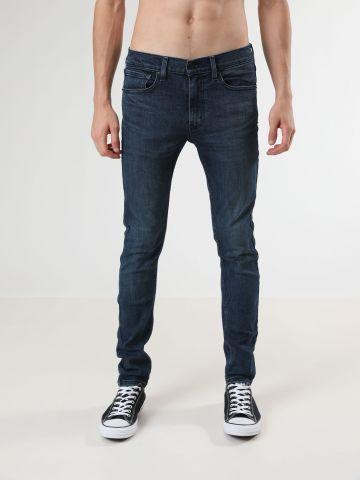 ג'ינס סופר סקיני בשטיפה כהה 519