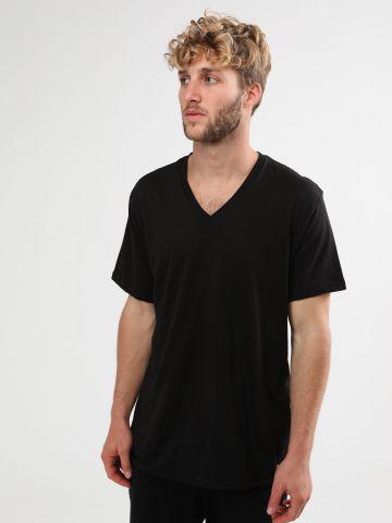 מארז 3 חולצות טי שירט וי