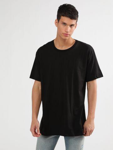 מארז 3 חולצות טי שירט בייסיק בצבעים שונים