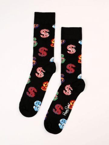 גרביים בהדפס דולרים Andy Warhol / גברים