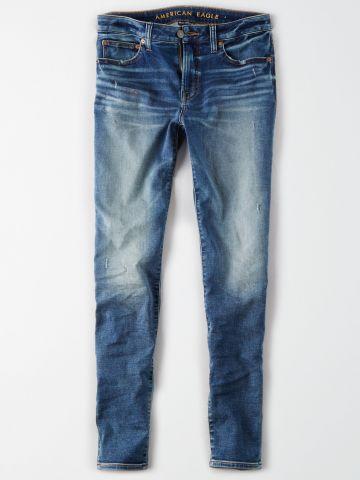 ג'ינס סקיני עם הבהרה Skinny / גברים