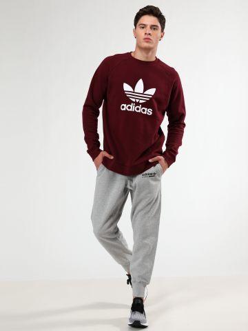 מכנסי טרנינג פרנץ' טרי עם הדפס לוגו / גברים