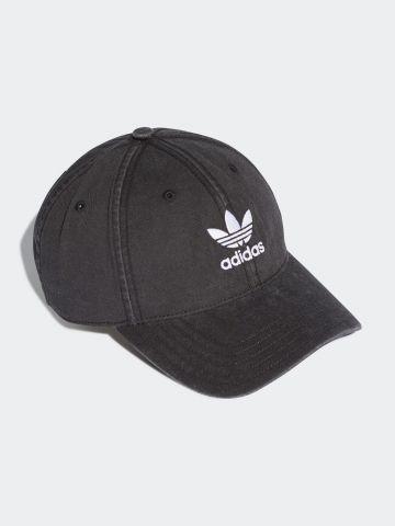 כובע מצחייה ווש עם לוגו / גברים