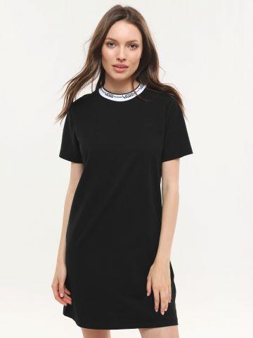 שמלת טי שירט מיני רינגר בהדפס לוגו