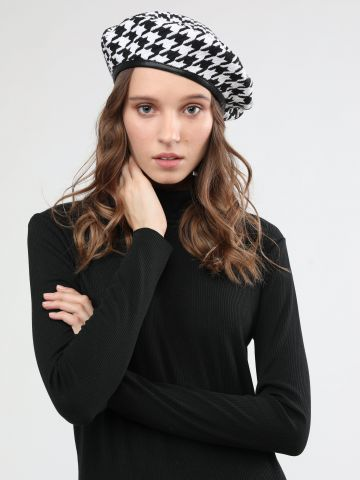 כובע בארט בהדפס פפיטה / נשים