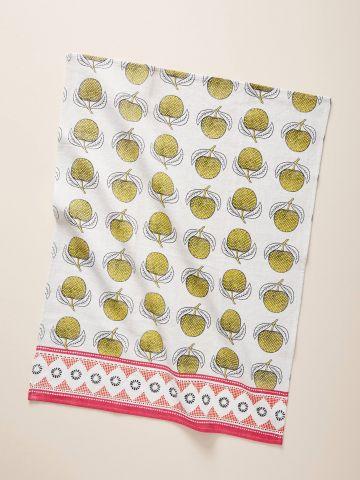 מגבת מטבח בהדפס תפוחים Suno
