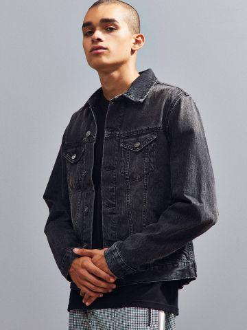 ג'קט ג'ינס ווש עם כיסים BDG