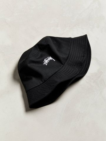 כובע צר שוליים עם לוגו Stussy / גברים