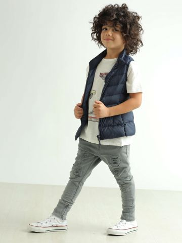 וסט קווילט Light Warm Padded Vest