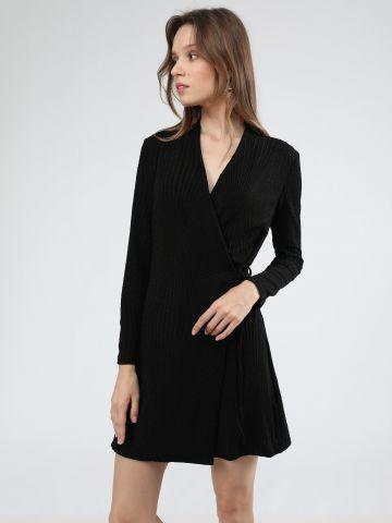 שמלת מיני לורקס בסגנון מעטפת
