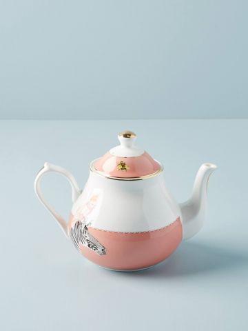 קנקן תה מחרסינה עם הדפס חיות Yvonne Ellen