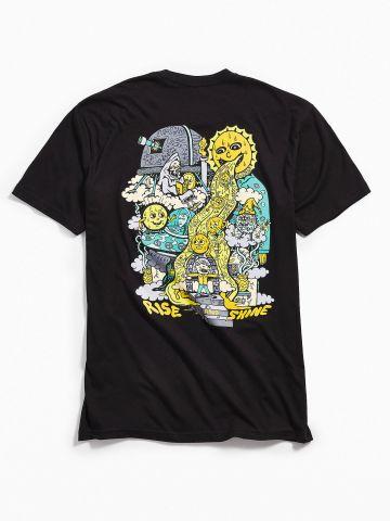 חולצת טי שירט Acid Killer Rise And Shine