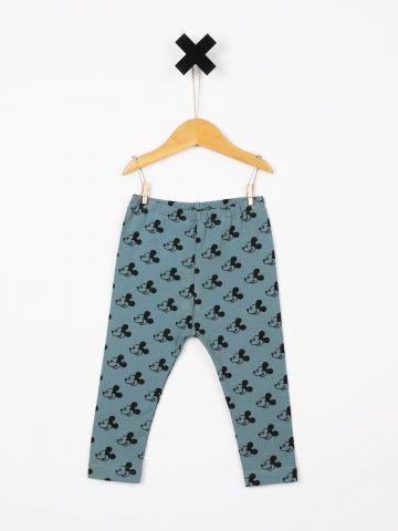 מכנסיים ארוכים בהדפס מיקי מאוס / בייבי