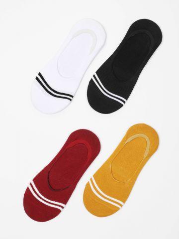 מארז 4 זוגות גרביים נמוכים / נשים