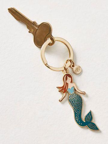מחזיק מפתחות בצורת בת ים Rifle Paper Co
