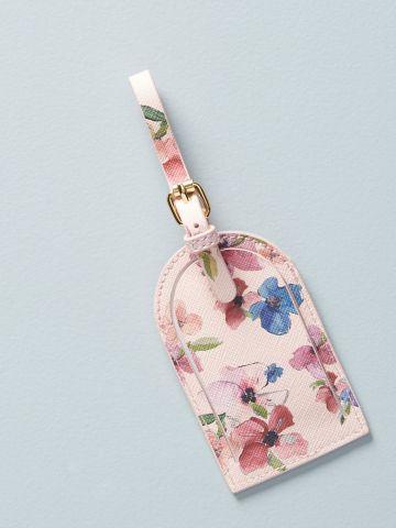 תג למזוודה בהדפס פרחים Whitney Winkler