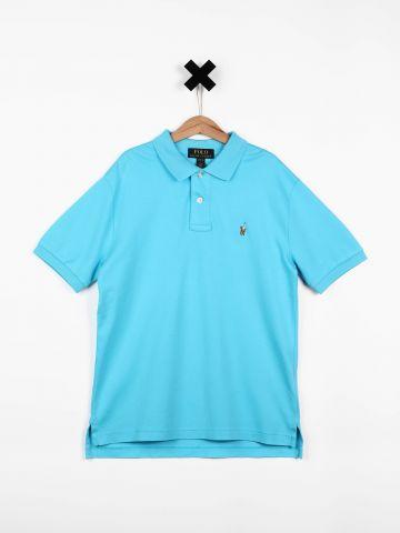 חולצת פולו עם לוגו / בנים