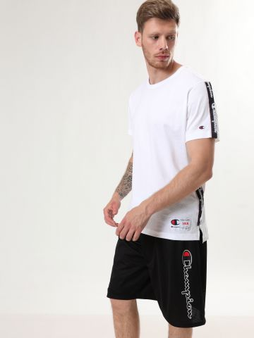מכנסי ברמודה רשת לוגו