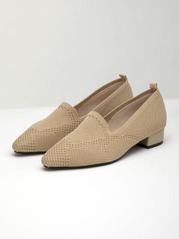 נעלי מוקסין סריג / נשים
