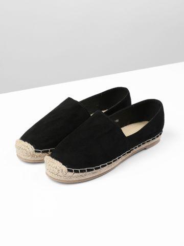 נעלי מוקסין דמוי זמש