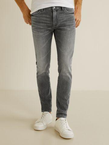 ג'ינס סקיני סטרץ' עם הבהרה