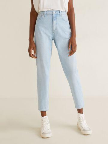 ג'ינס Mom סלים בשטיפה בהירה