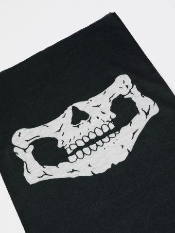 בנדנה בהדפס גולגולת / תחפושות לפורים