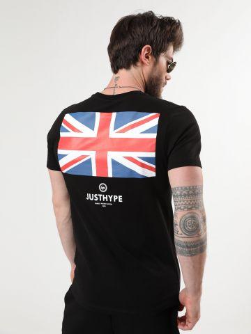 טי שירט לוגו UK