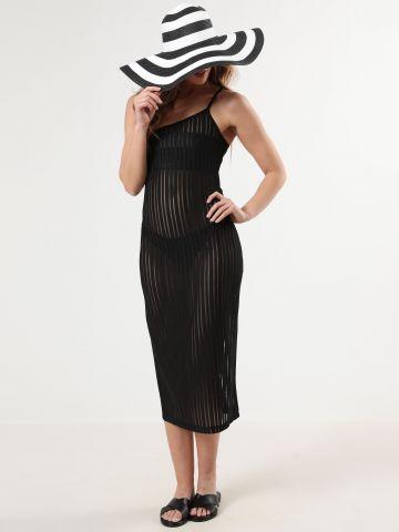 שמלת פסים מידי וואן שולדר