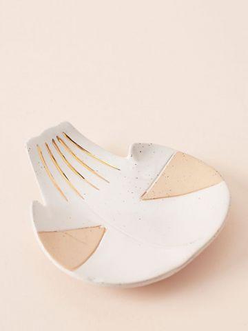 צלוחית חרס לתכשיטים בצורת כף יד Ivy Weinglass