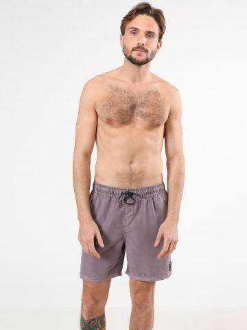 מכנסי בגד ים ווש לוגו