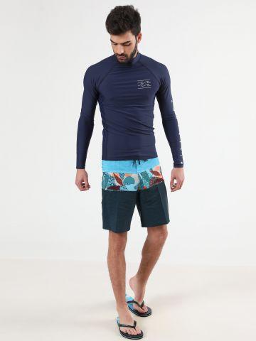 מכנסי בגד ים קולור בלוק