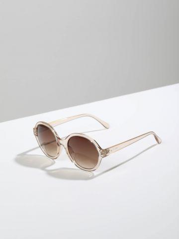משקפי שמש עגולים עם מסגרת פלסטיק Logan
