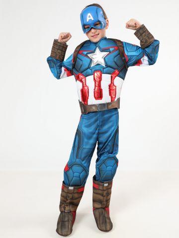 תחפושת קפטן אמריקה ילדים / תחפושות לפורים
