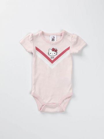 בגד גוף עם הדפס Hello Kitty/ בייבי בנות