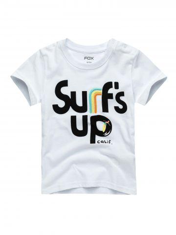 טי שירט עם הדפס surf's up / בייבי בנים