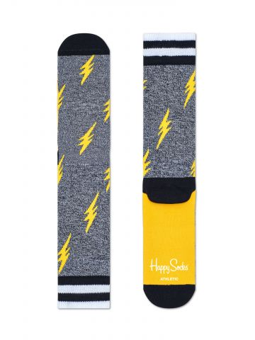 גרביים גבוהים בהדפס ברקים / גברים